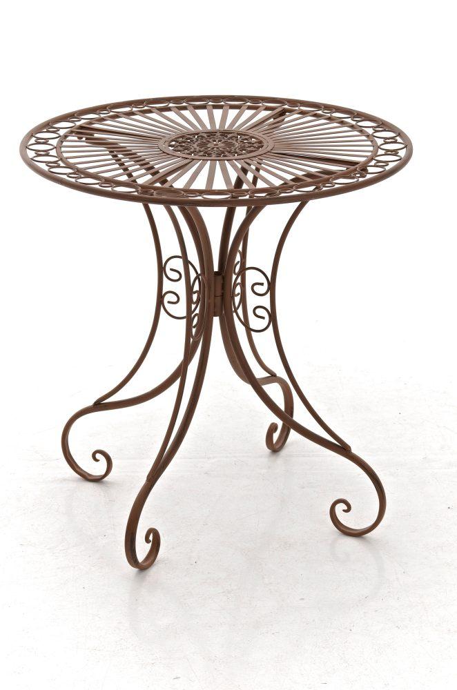 Table De Jardin En Fer Forg Hari Table De Terrasse Style Antique