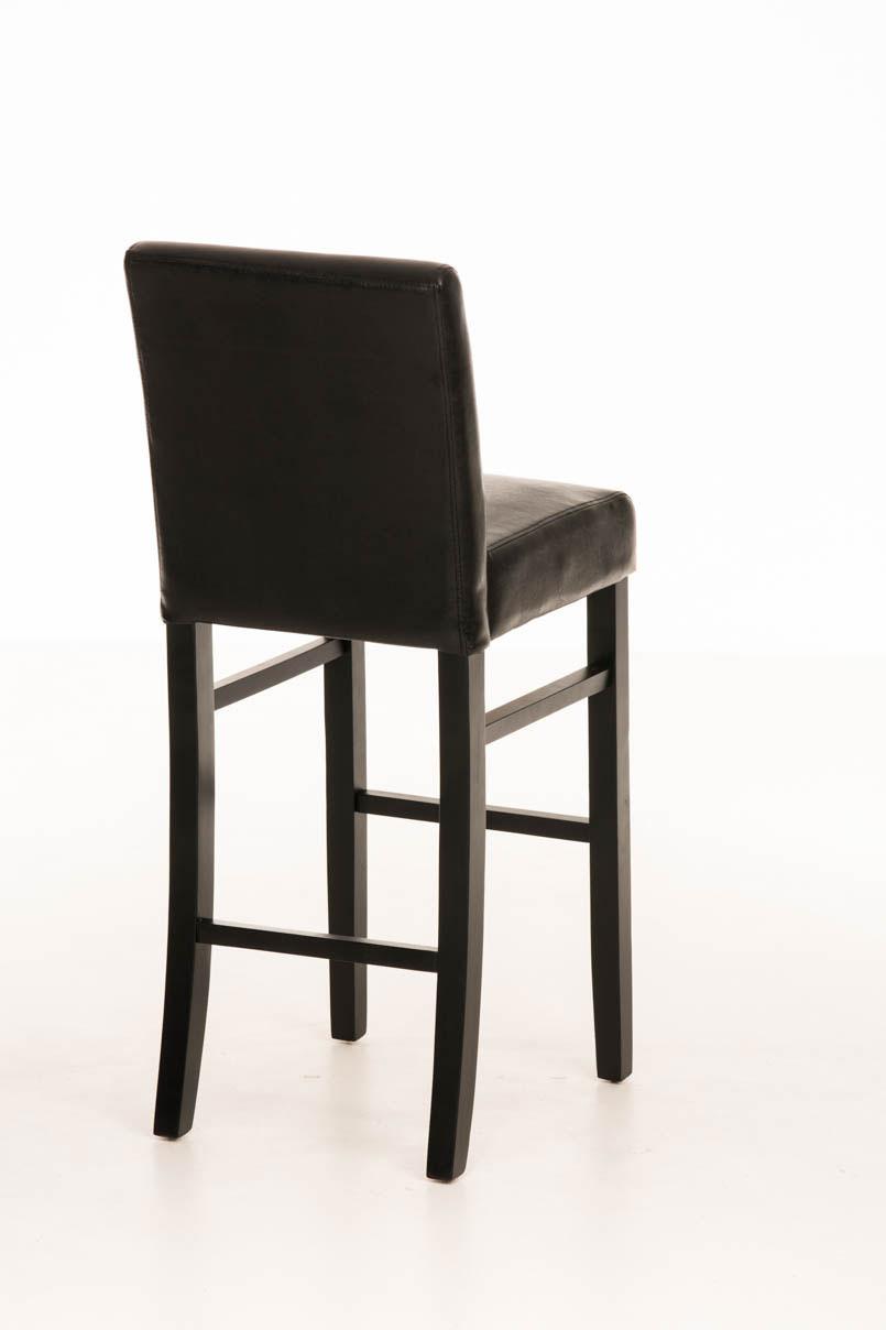 Barhocker alvin stuhl hocker tresenstuhl barstuhl schwarz for Stuhl hocker