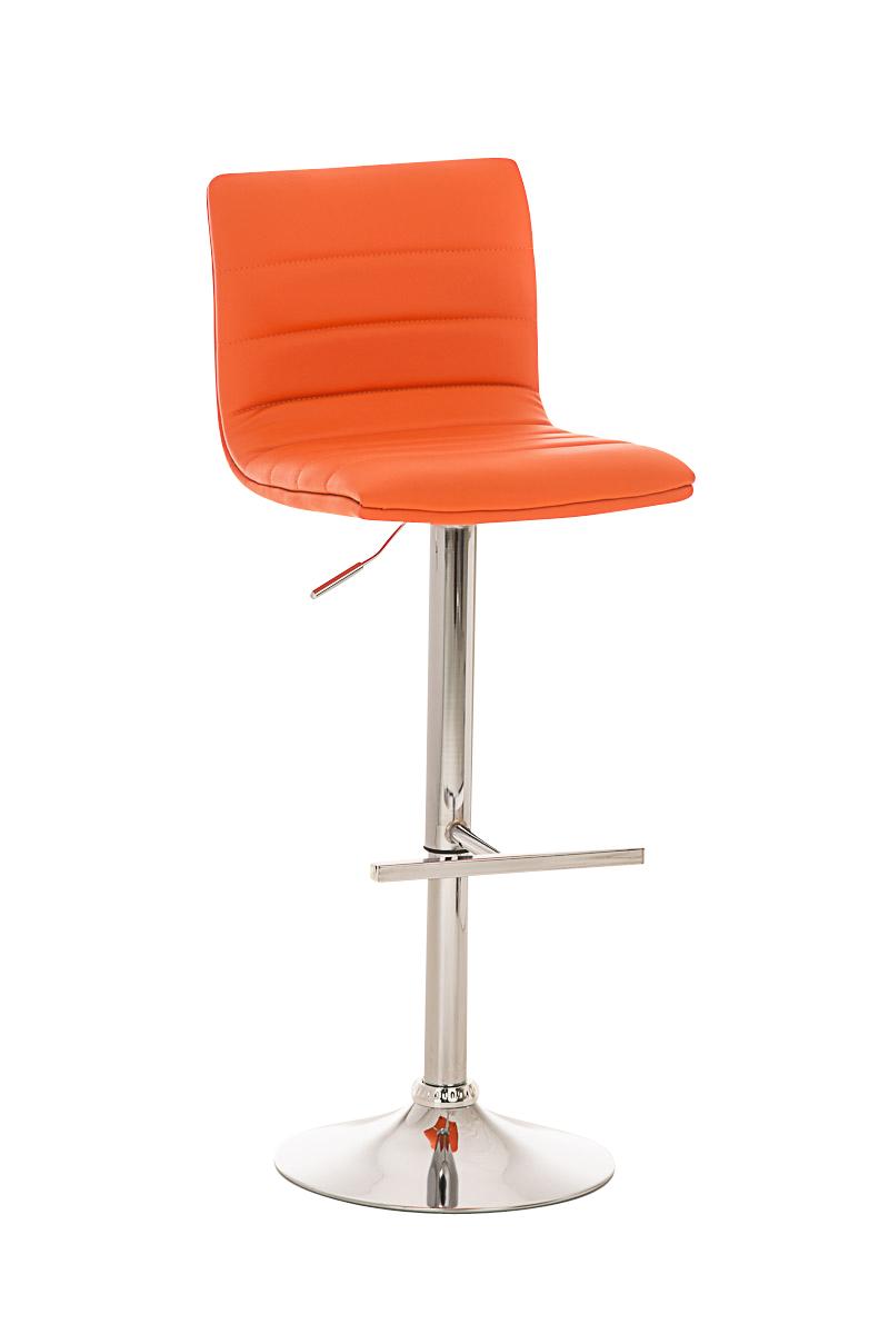 Barhocker valenzia stuhl hocker tresenstuhl barstuhl for Barhocker orange