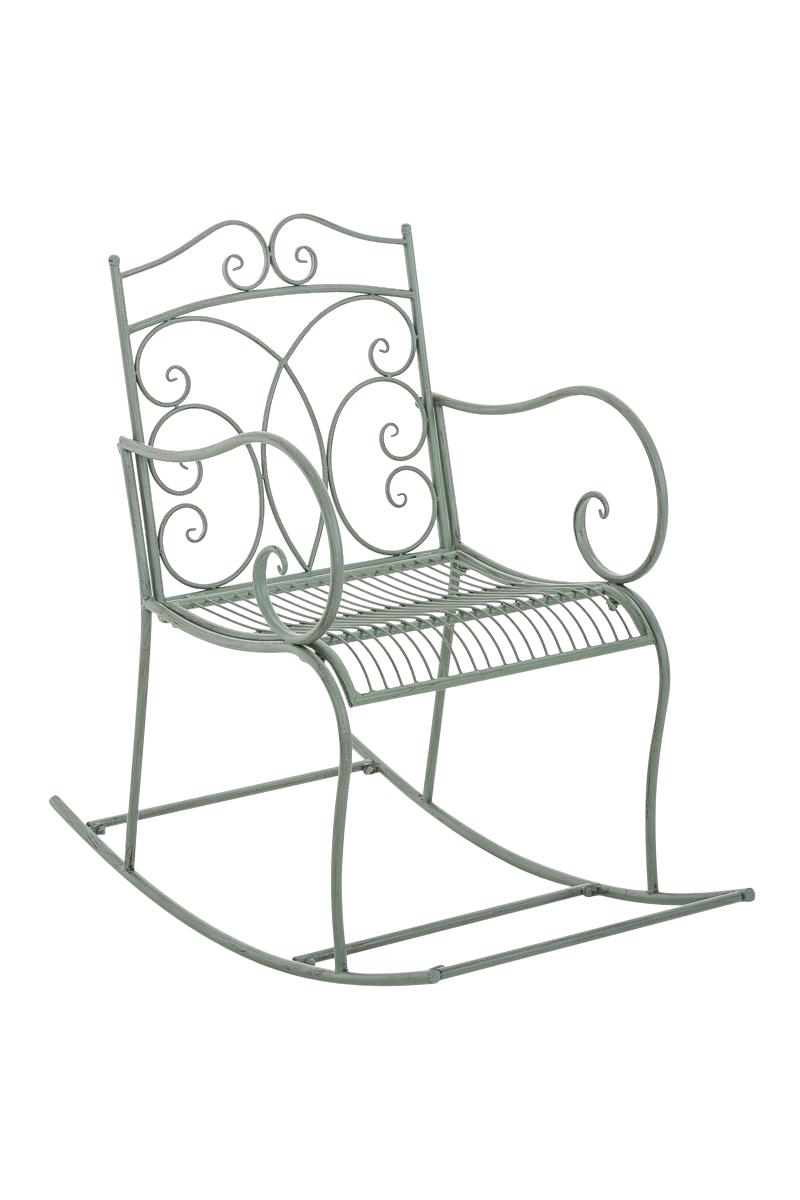 fauteuil bascule edith chaise bascule de jardin en fer forg design antique ebay. Black Bedroom Furniture Sets. Home Design Ideas