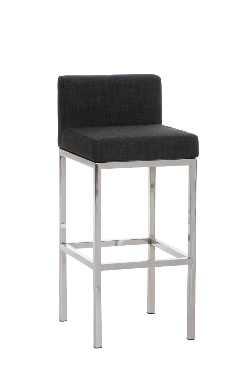 barhocker goa stoff barstuhl mit fu ablage bar thekenhocker tresenhocker hocker ebay. Black Bedroom Furniture Sets. Home Design Ideas