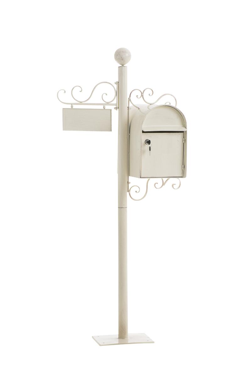 bo te aux lettres sur pied charlize avec porte nom et un design antique 150 cm ebay. Black Bedroom Furniture Sets. Home Design Ideas