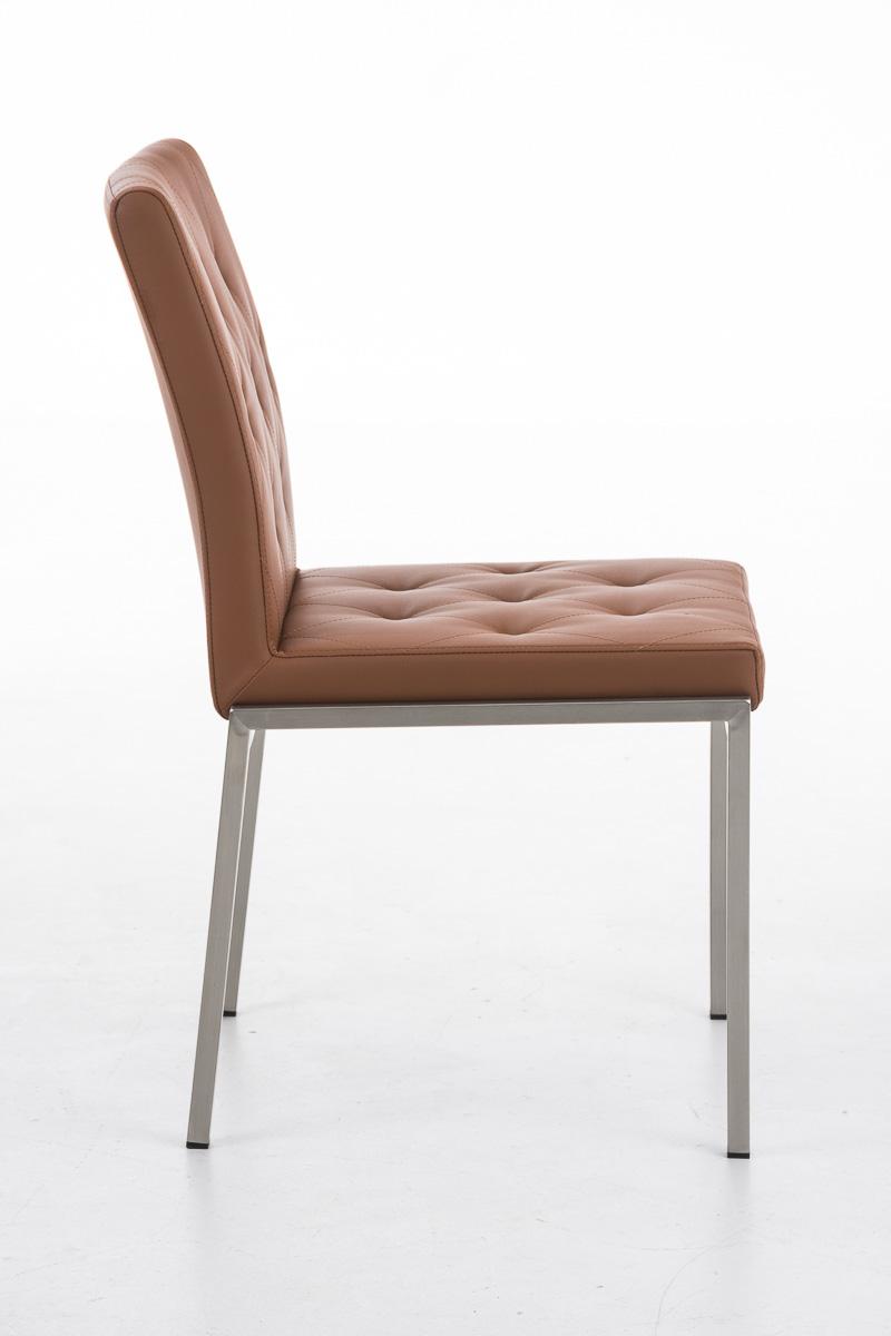 Besucherstuhl charly praxis wartezimmer stuhl hellbraun ebay for Design stuhl charly