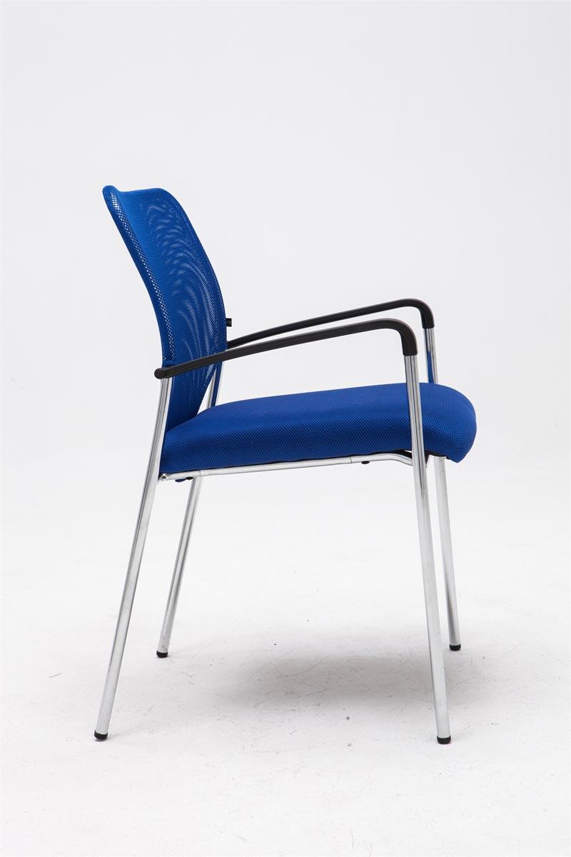 besucherstuhl cuba praxis wartezimmer stuhl blau 4251152631000 ebay. Black Bedroom Furniture Sets. Home Design Ideas