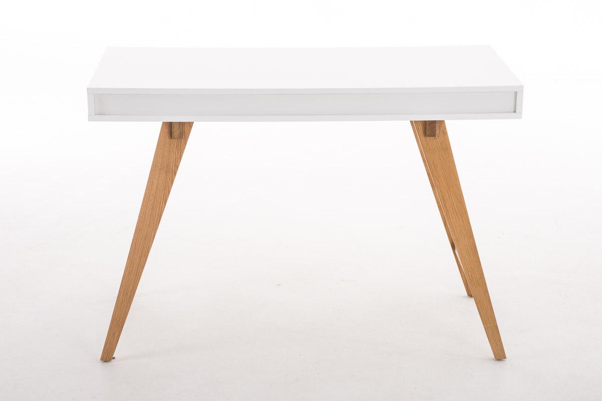 hbm47270 schreibtisch porto 110 cm wei b rotisch arbeitstisch tisch b ware ebay. Black Bedroom Furniture Sets. Home Design Ideas