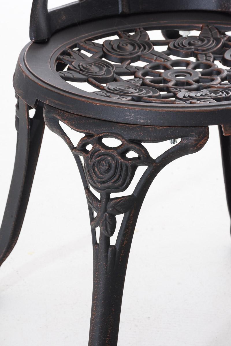 Stuhl Ganesha Metallstuhl Terrassenstuhl Gartenstuhl nostalgisch Vintage Eisen
