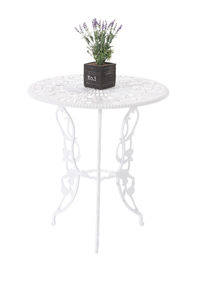 Table jardin GANESHA ronde romantique métal classique vintage ...