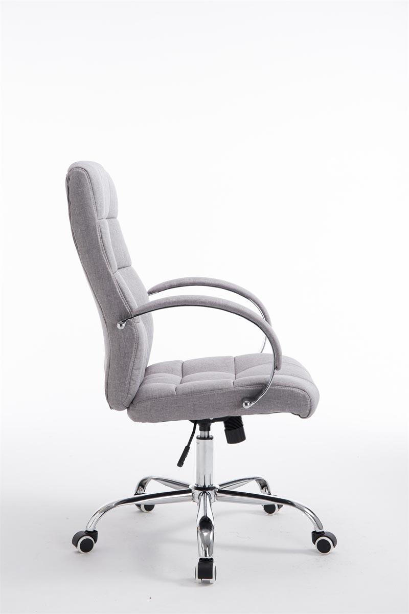 tk6159 b rostuhl mikos stoff grau schreibtischstuhl. Black Bedroom Furniture Sets. Home Design Ideas