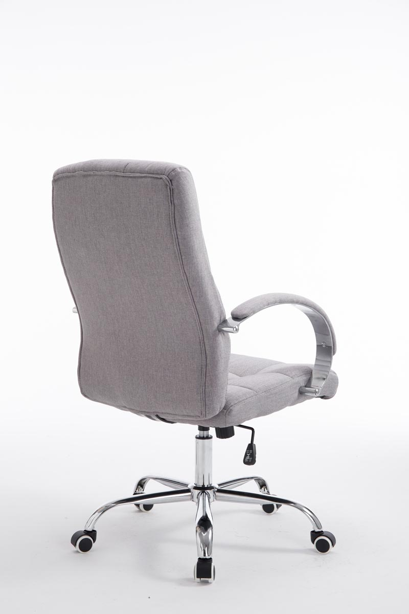 b rostuhl mikos stoff drehstuhl schreibtischstuhl grau ebay. Black Bedroom Furniture Sets. Home Design Ideas