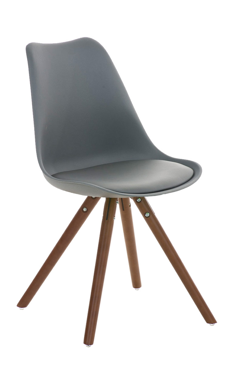 Design Besucherstuhl PEGLEG natura Retro Stuhl Konferenz Wartestuhl Loft Chair