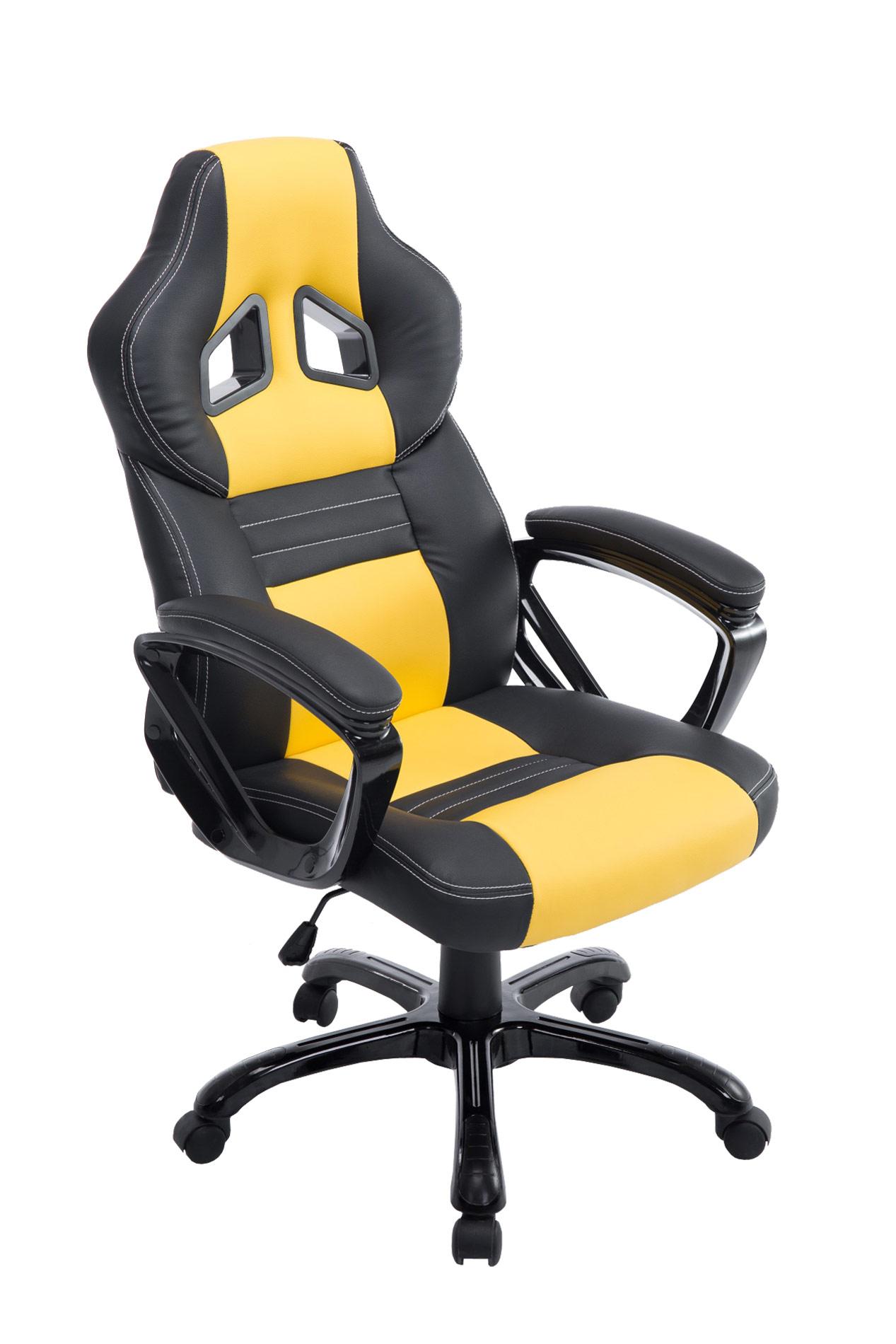 b rostuhl pedro xl gaming drehstuhl chefsessel belastbar 180 kg racing sportsitz ebay. Black Bedroom Furniture Sets. Home Design Ideas