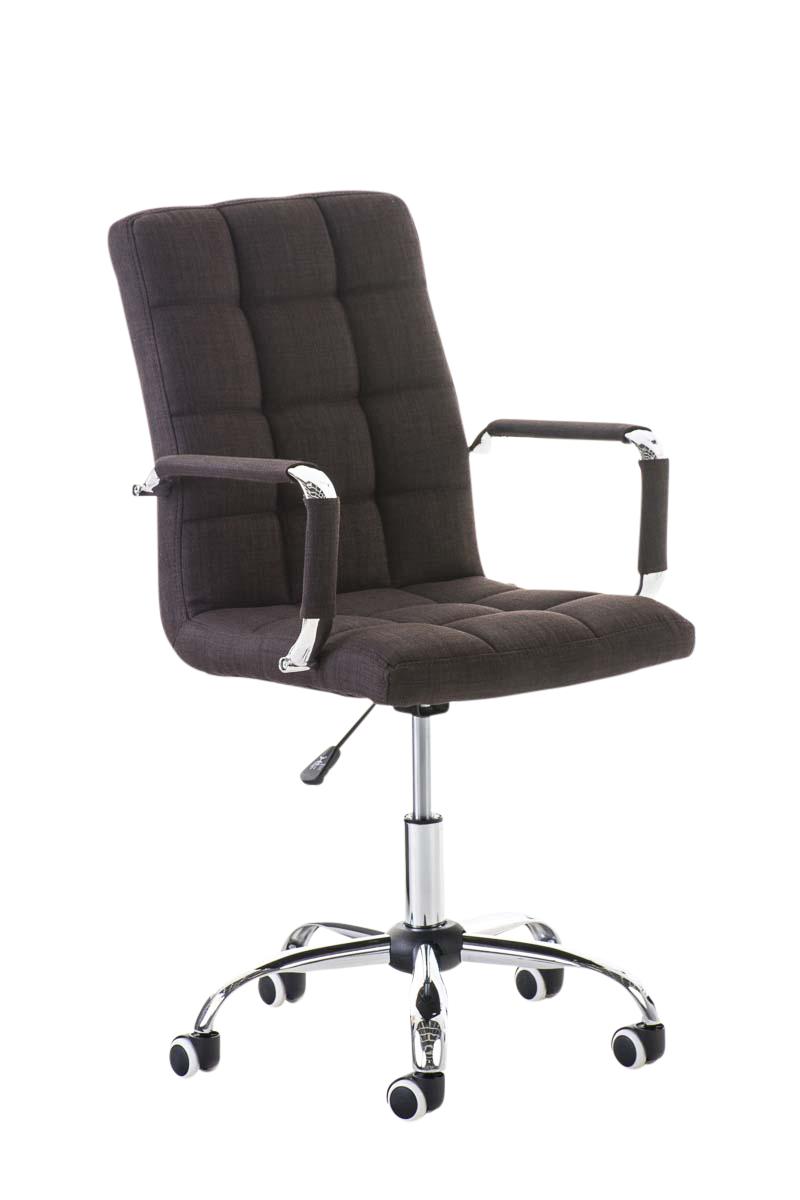 b rostuhl deli v2 stoff mit armlehne drehstuhl b rosessel schreibtischstuhl ebay. Black Bedroom Furniture Sets. Home Design Ideas