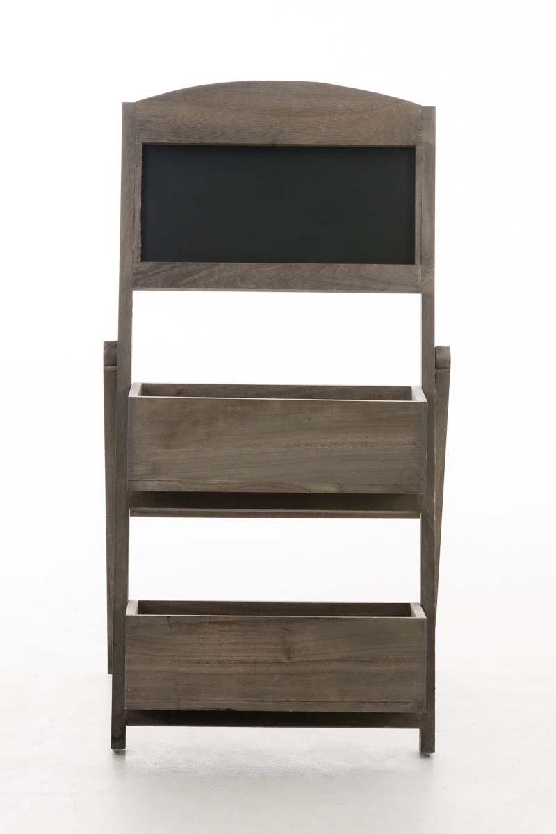Scala Di Legno Decorativa scala decorativa bianco clp scaffale a scaletta con lavagna