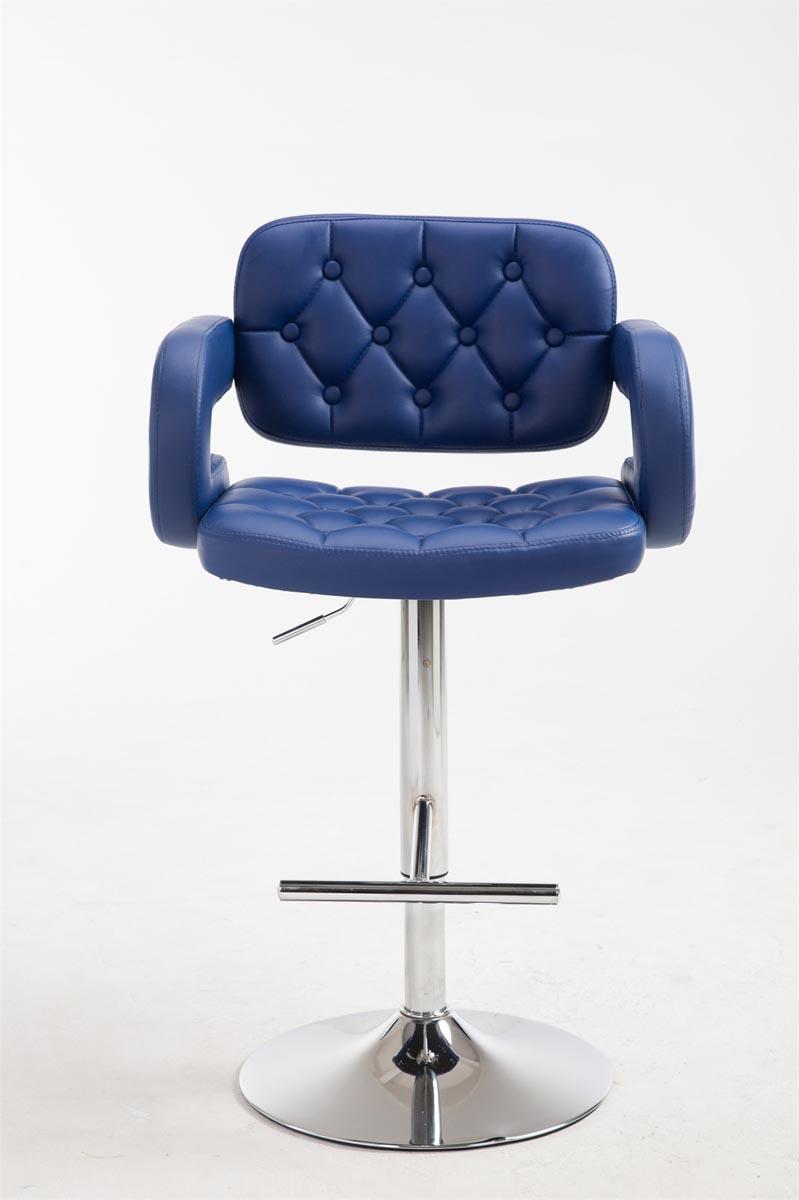 la31409 2x barhocker dublin blau mit lehne tresenhocker. Black Bedroom Furniture Sets. Home Design Ideas