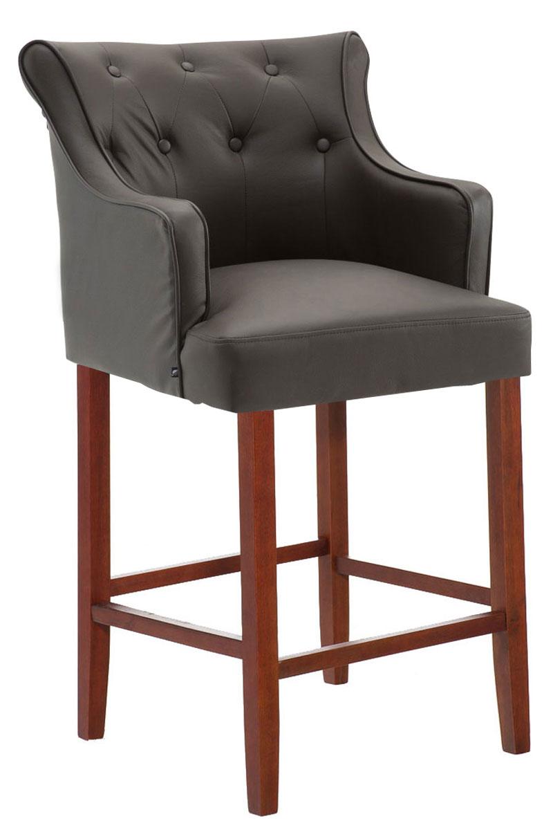 tabouret bar lykso chaise cuir v ritable accoudoir repose pied cuisine chic neuf ebay. Black Bedroom Furniture Sets. Home Design Ideas