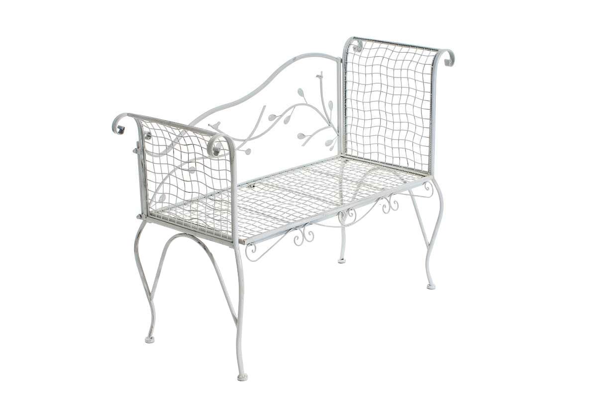 romantische sitzbank antika antik wei nostalgie bank. Black Bedroom Furniture Sets. Home Design Ideas