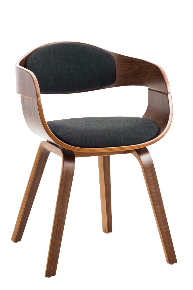 fauteuil salle manger kingston chaise tissu cuisine design r union bureau neuf ebay. Black Bedroom Furniture Sets. Home Design Ideas