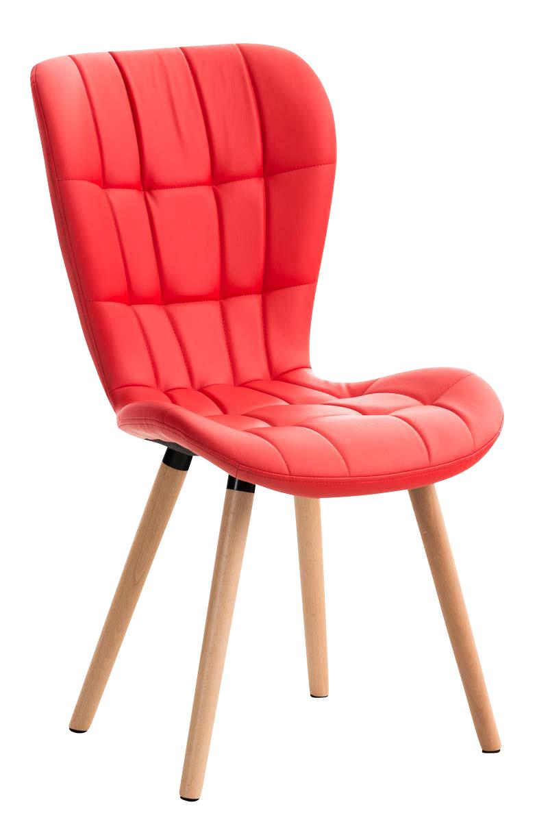 Chaise salle manger elda fauteuil similicuir bois cuisine lounge scandinave ebay - Chaises fauteuils salle a manger ...