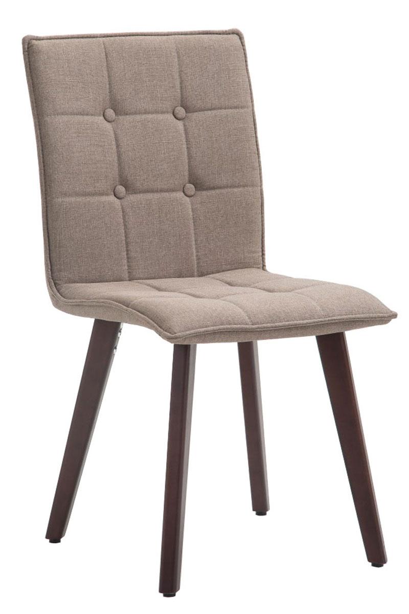 Chaise salle manger miller tissu design scandinave bois for Chaise bois design salle manger