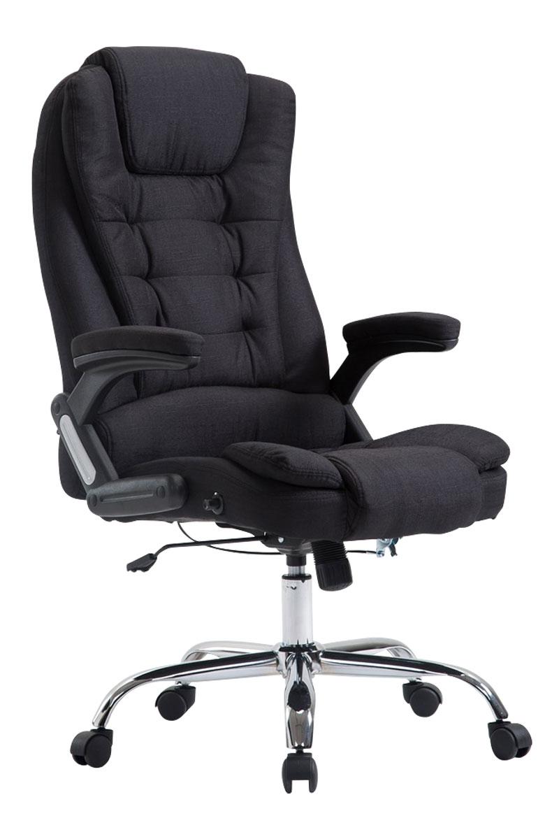 b rostuhl thor stoff chefsessel xl b rosessel schreibtischstuhl 150 kg belastbar ebay. Black Bedroom Furniture Sets. Home Design Ideas