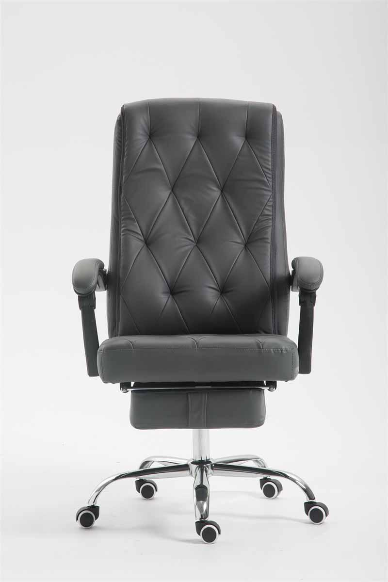 Bürostuhl Gear Kunstleder Chefsessel mit Fußablage Drehstuhl Schreibtischstuhl