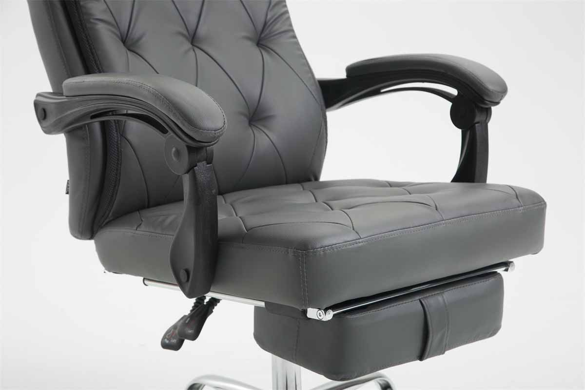 Fauteuil bureau gear chaise similicuir repose jambe relaxation
