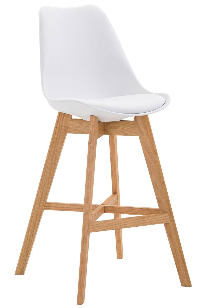 tabouret bar cannes fauteuil similicuir bois plastique design scandinave cuisine ebay. Black Bedroom Furniture Sets. Home Design Ideas