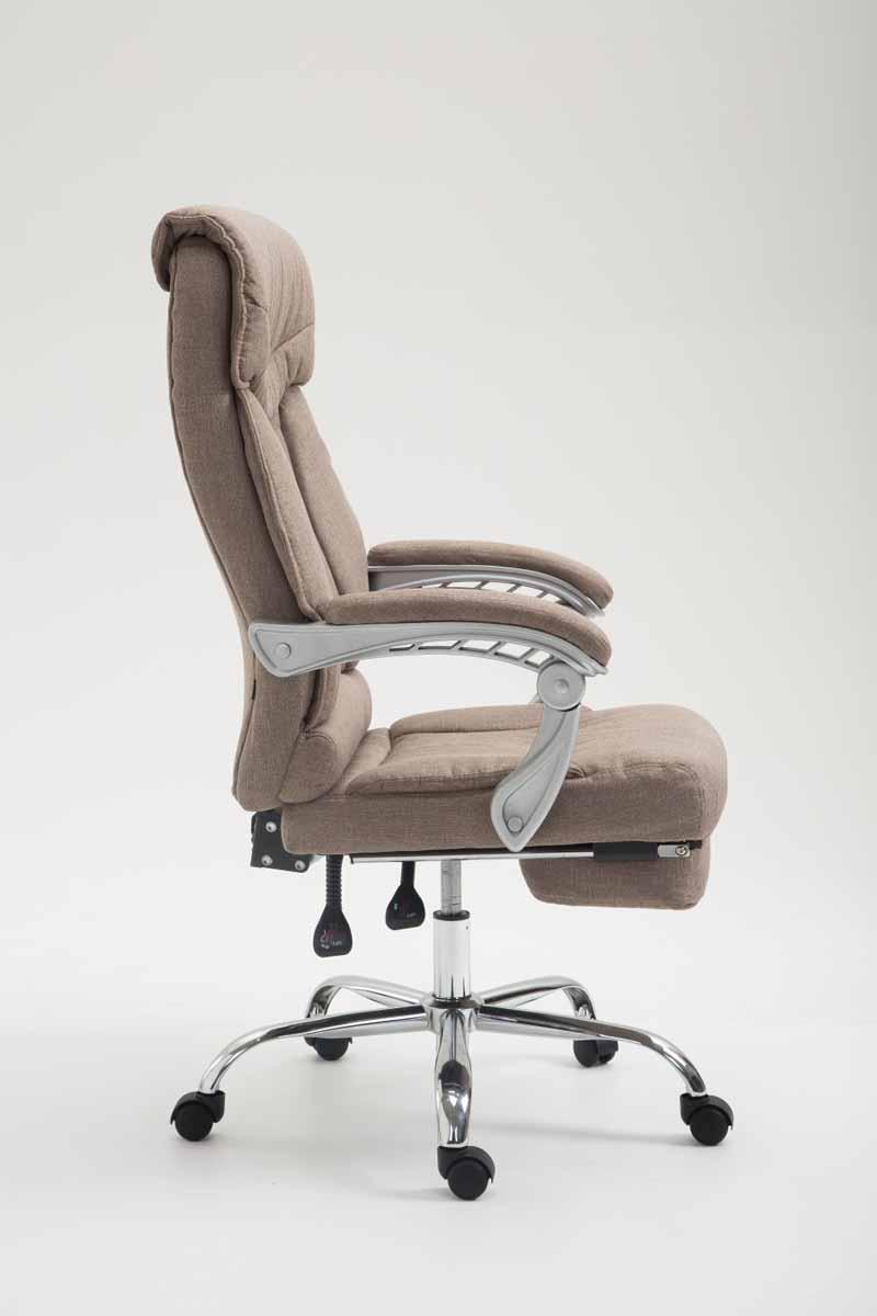 b rostuhl big iowa stoff drehstuhl schreibtischstuhl taupe. Black Bedroom Furniture Sets. Home Design Ideas