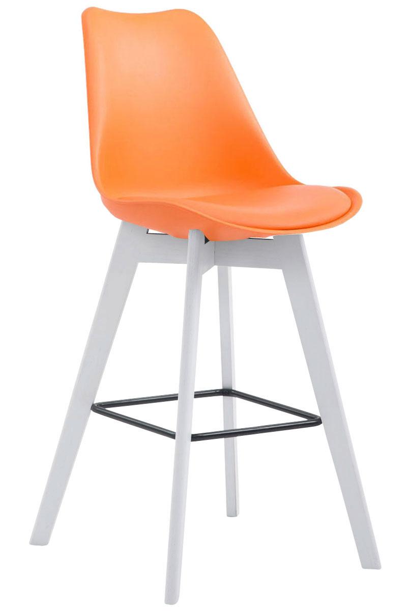 tabouret bar metz chaise plastique similicuir bois cuisine. Black Bedroom Furniture Sets. Home Design Ideas
