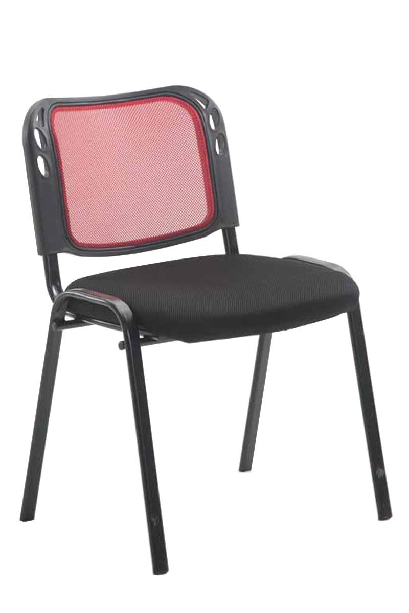 chaise visiteur michelle empilable bureau fauteuil mailles m tal r union salon ebay. Black Bedroom Furniture Sets. Home Design Ideas