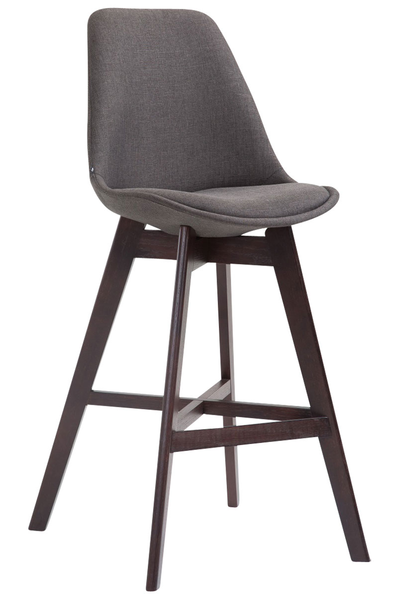 tabouret de bar cannes fauteuil tissu chaise bois design scandinave cuisine neuf ebay. Black Bedroom Furniture Sets. Home Design Ideas