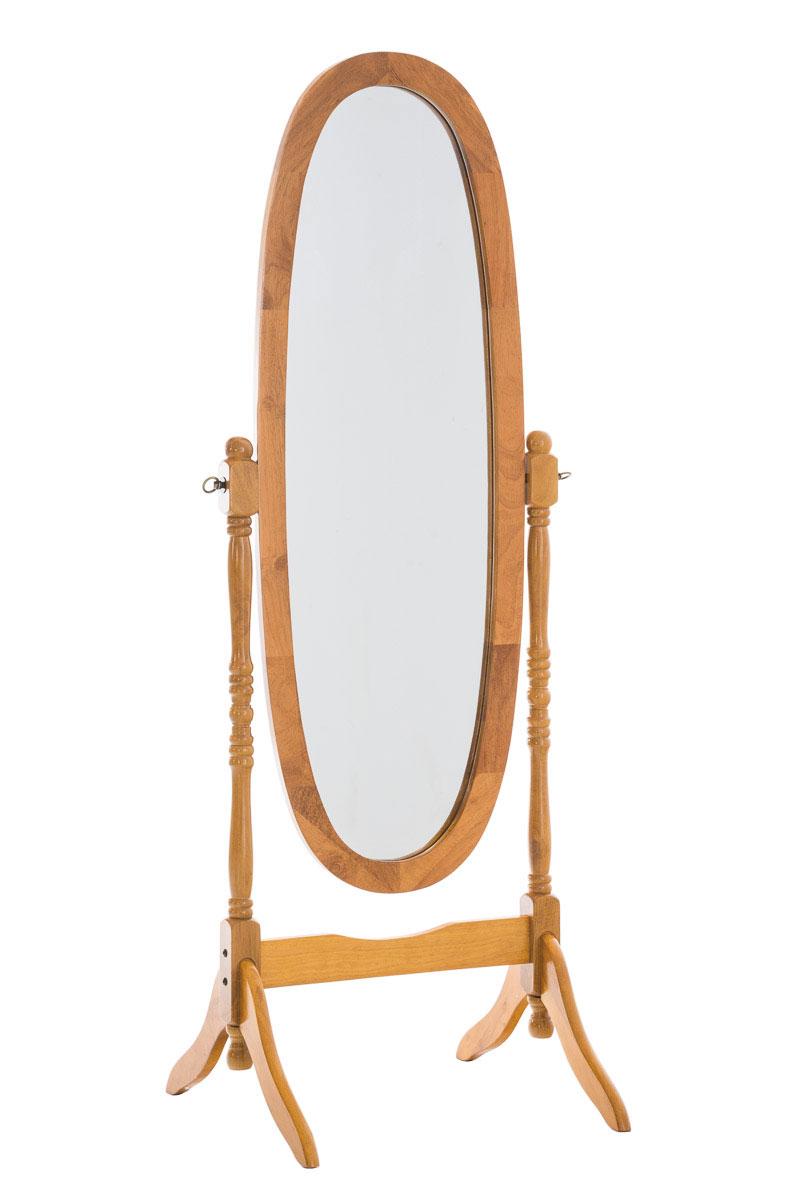 miroir pied cora psyche chambre salle de bain bois r glable pivotant ovale neuf ebay. Black Bedroom Furniture Sets. Home Design Ideas