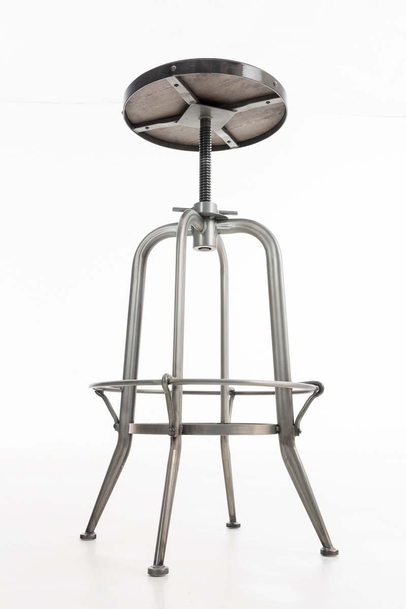 Barhocker lasse industrie design metall barstuhl hocker for Barhocker industrie
