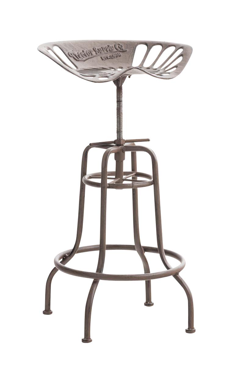 tabouret bar bill bronze industriel m tal comptoir chaise cuisine atelier neuf ebay. Black Bedroom Furniture Sets. Home Design Ideas