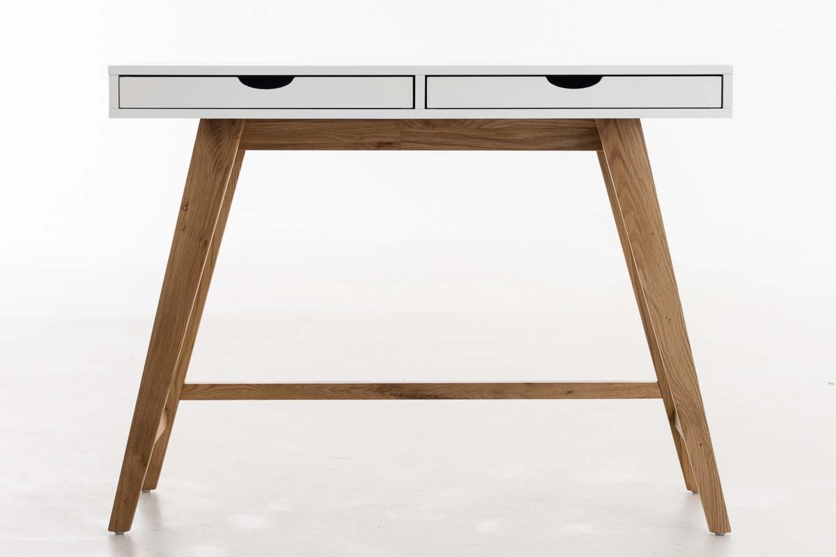 Bureau informatique san jose table de travail avec tiroirs blanc
