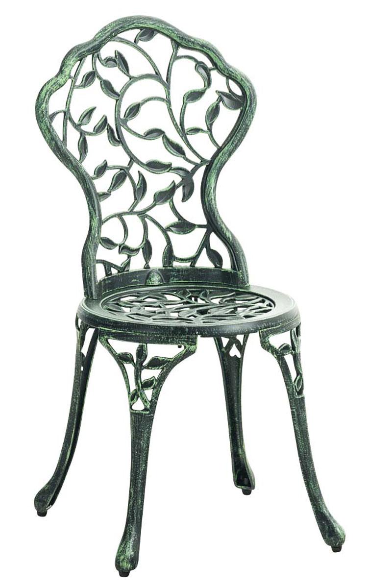 chaise de jardin goyal chaise de jardin en fer forg assise ronde et dossier ebay. Black Bedroom Furniture Sets. Home Design Ideas