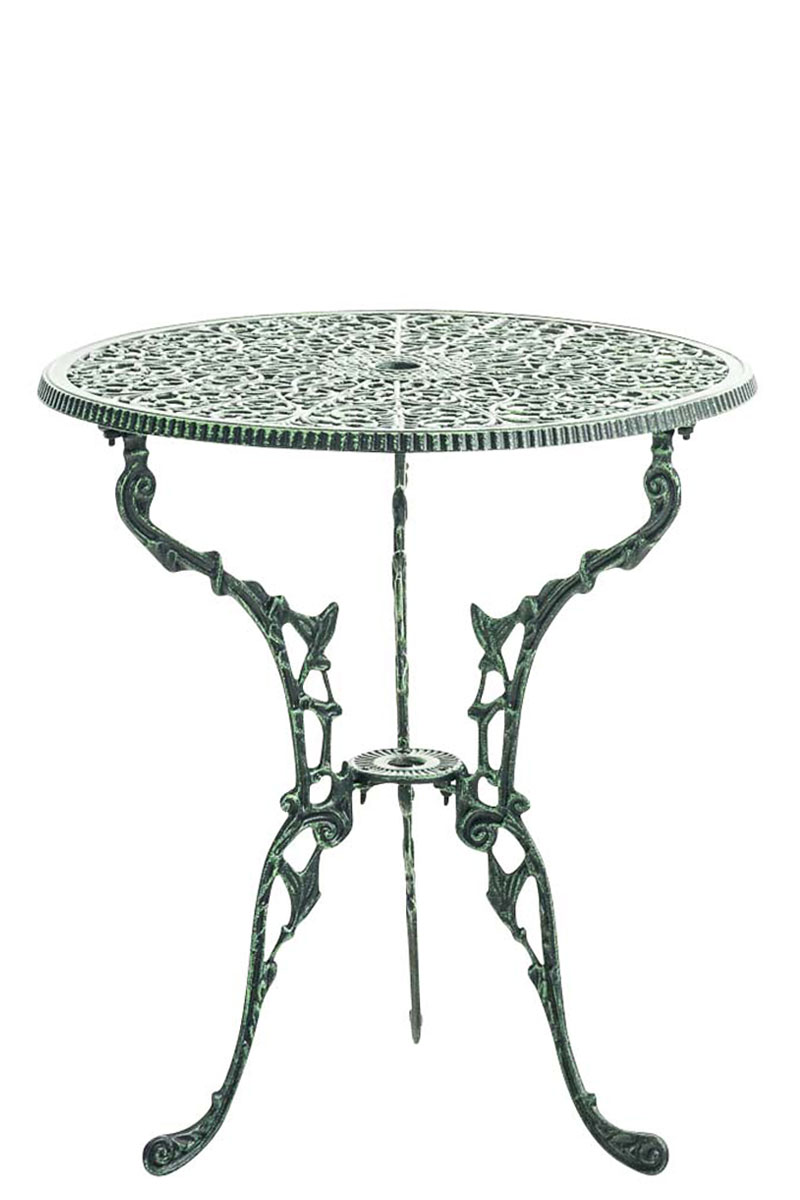 Table de Jardin DIVARI table de jardin ronde Ø 60 cm robuste et ...
