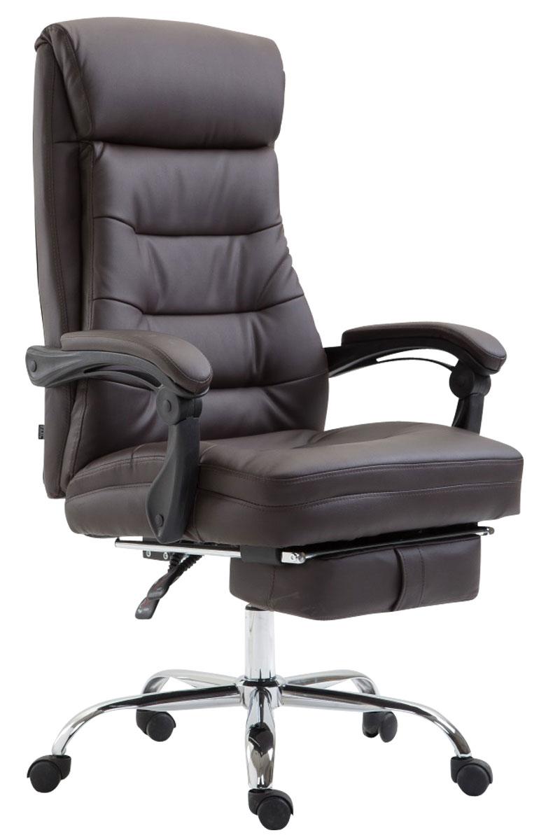 b rostuhl hades kunstleder mit fu ablage chefsessel drehstuhl arbeitsstuhl ebay. Black Bedroom Furniture Sets. Home Design Ideas