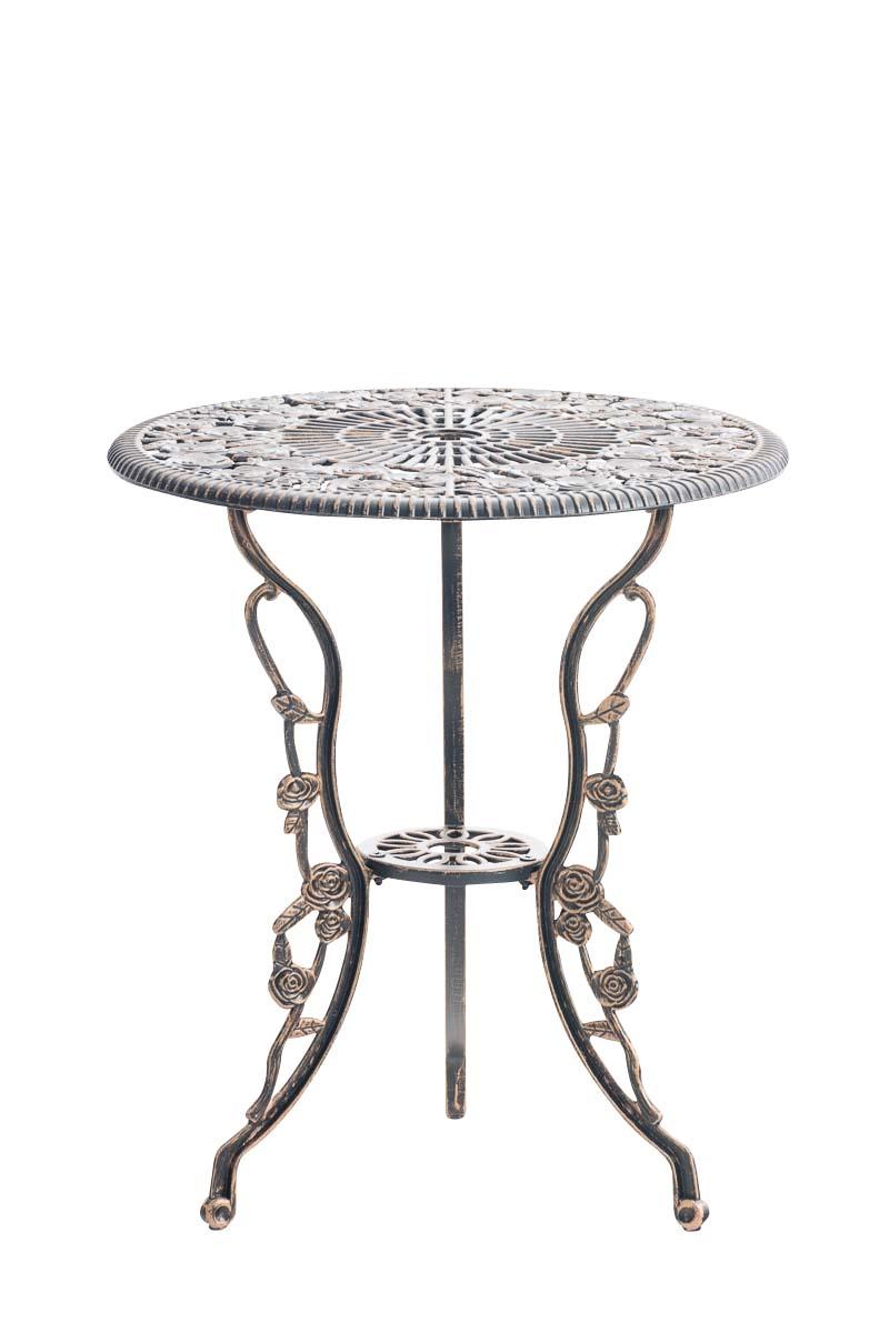 AuBergewohnlich Tisch Sharma Gartentisch Terrassentisch  Eisentisch Biergartentisch Antik Design