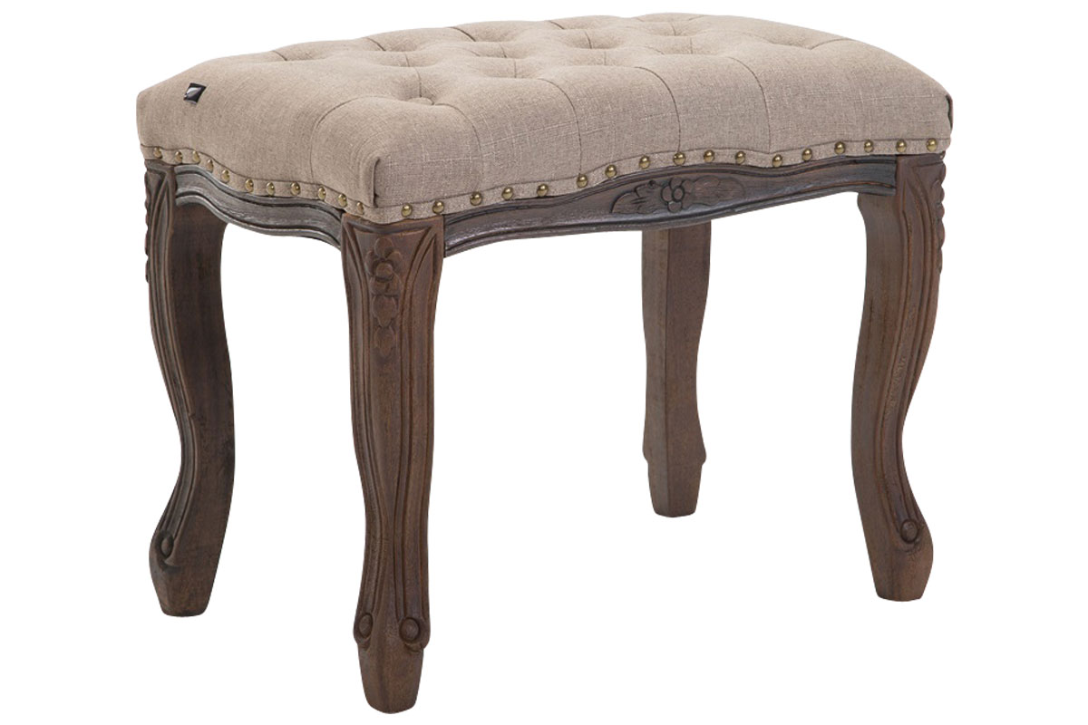sessel taupe, sitzhocker nefertiti stoff antik lounge club möbel sessel taupe | ebay, Design ideen