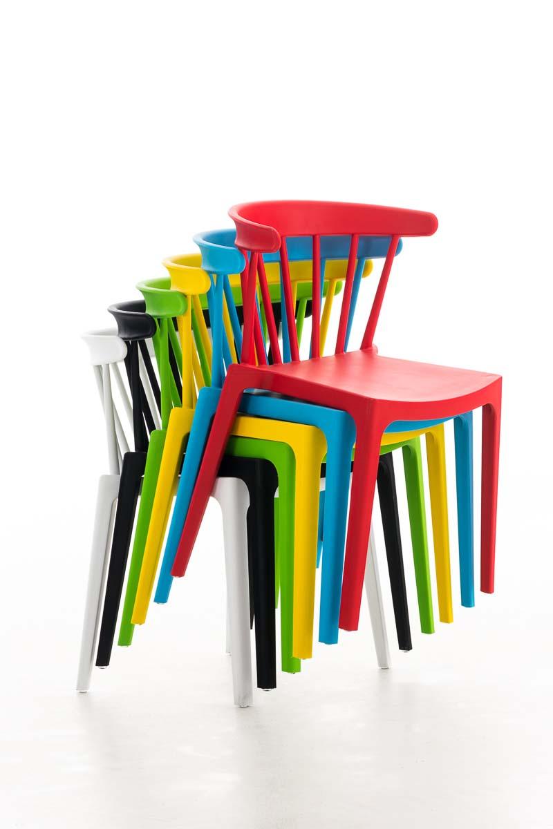 Chaise empilable filip chaise de jardin terrasse gastronomie en plastique solide ebay for Chaise empilable plastique