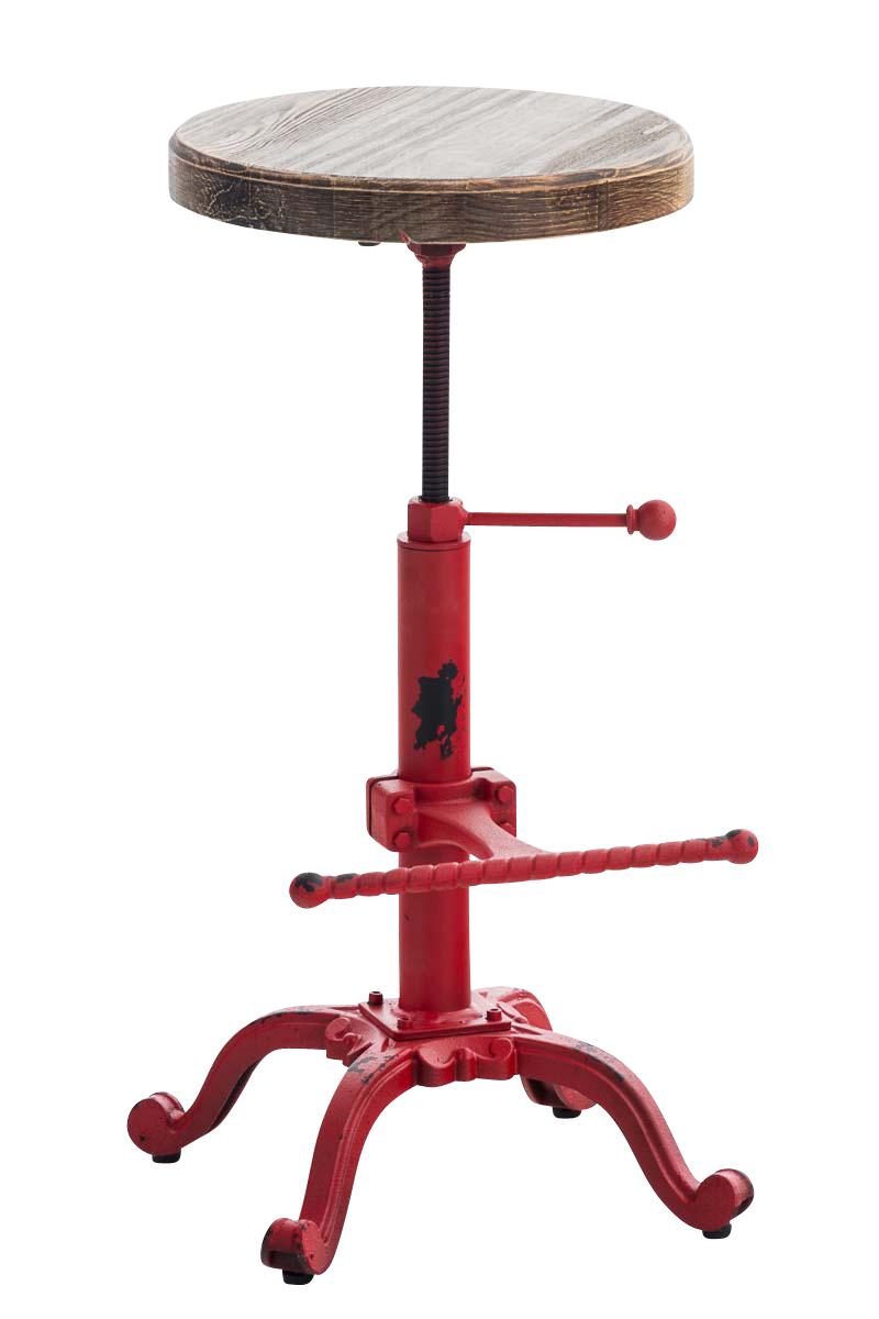 Cooler Drehhocker Alter Fahrradsitz Gefedert Leder Antik Stuhl Vintage Barhocker
