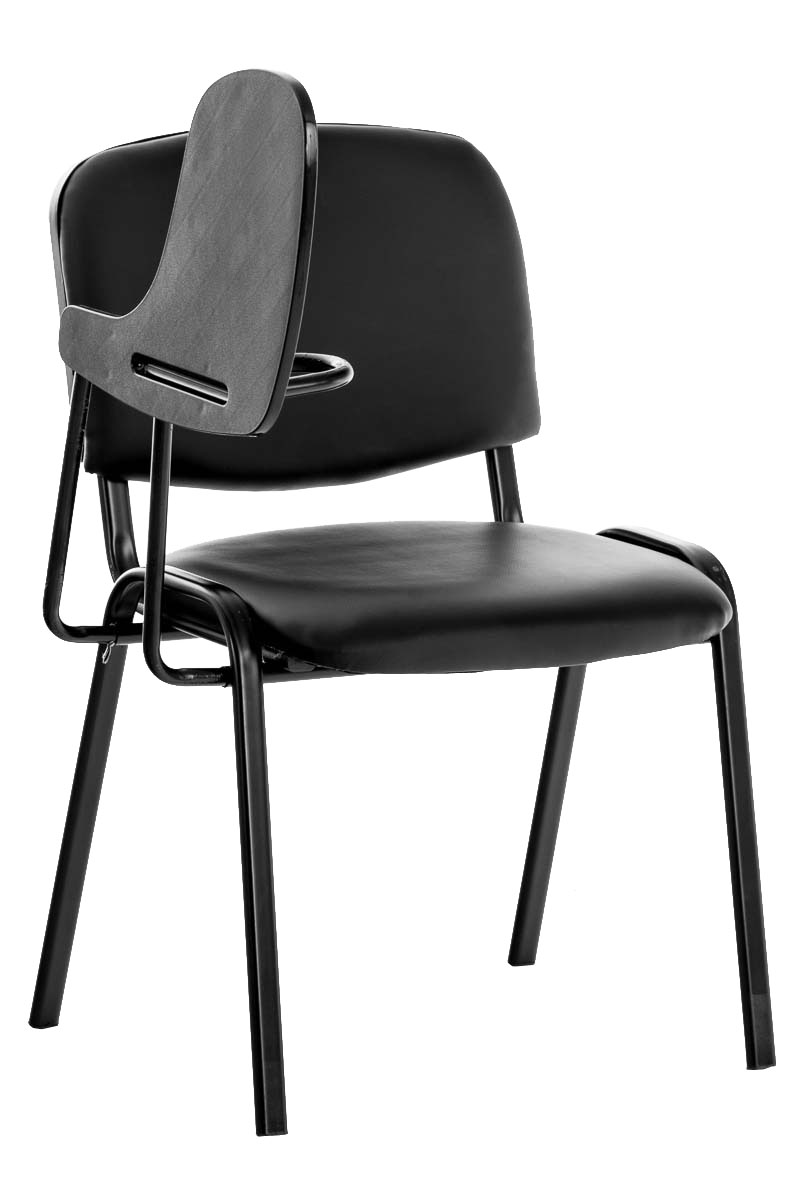 Stuhl Ken mit Klapptisch Kunstleder Collegestuhl