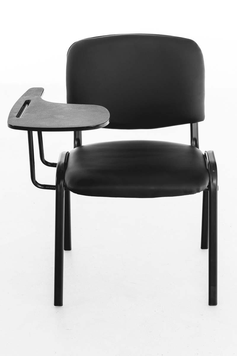 Stuhl Ken mit Klapptisch Seminarstuhl mit Schreibplatte