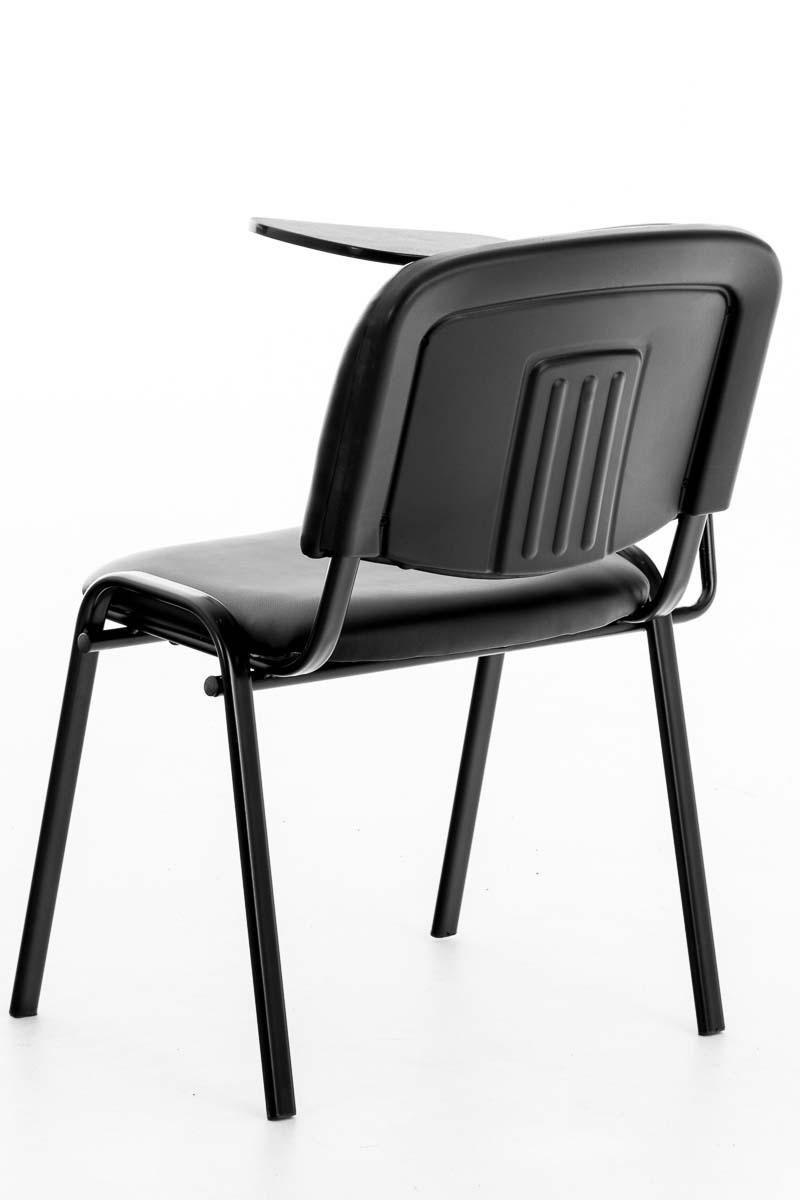 stuhl ken mit klapptisch seminarstuhl mit schreibplatte kunstleder collegestuhl ebay. Black Bedroom Furniture Sets. Home Design Ideas