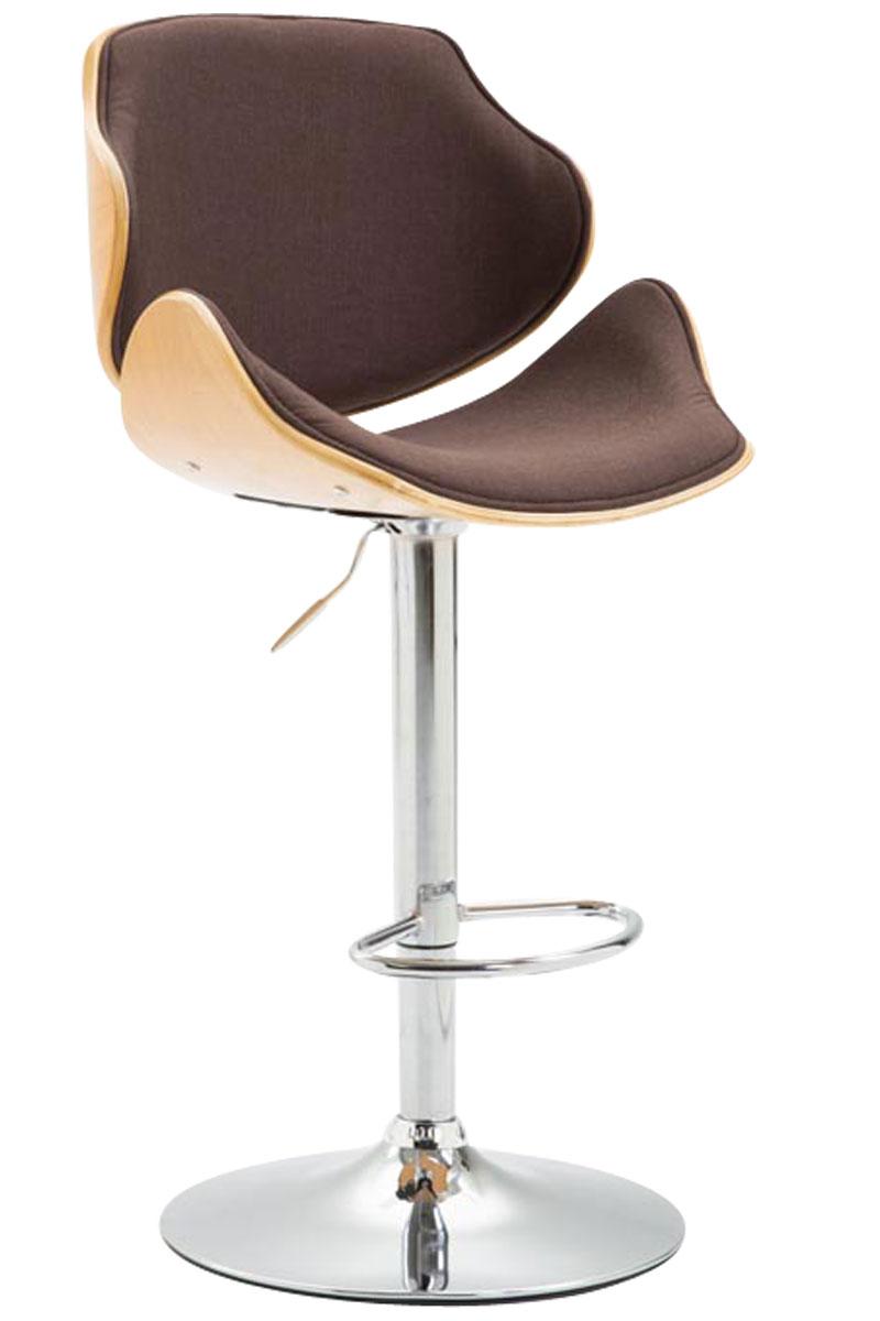 barhocker belem stoff thekenhocker mit lehne tresenhocker h henverstellbar ebay. Black Bedroom Furniture Sets. Home Design Ideas
