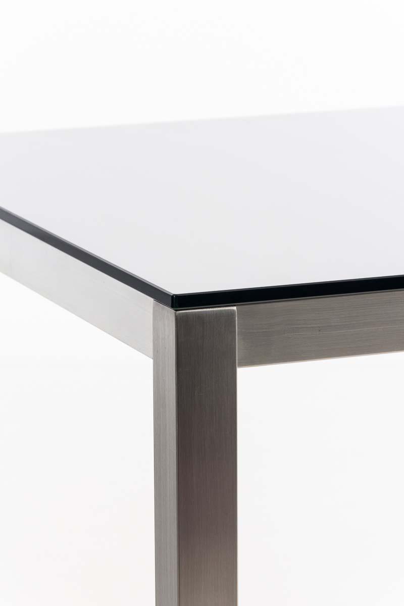 stehtisch alfie 80x80 cm bartisch bistrotisch beistelltisch edelstahltisch ebay. Black Bedroom Furniture Sets. Home Design Ideas