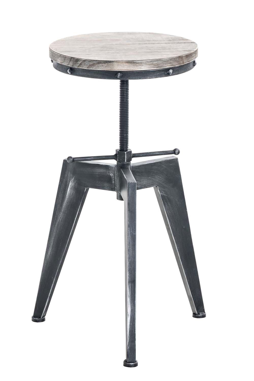 hocker robot holz drehhocker industriell design sitzhocker loft 3 bein hocker ebay. Black Bedroom Furniture Sets. Home Design Ideas