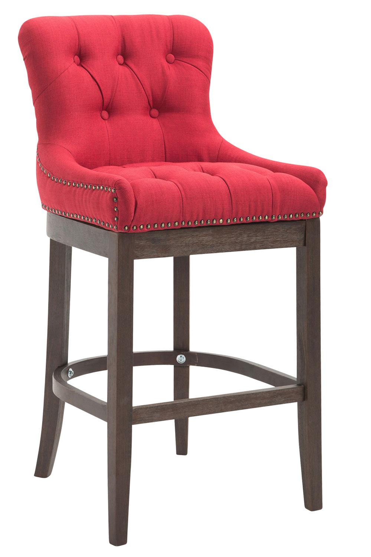 barhocker buckingham stoff barstuhl holz thekenhocker. Black Bedroom Furniture Sets. Home Design Ideas