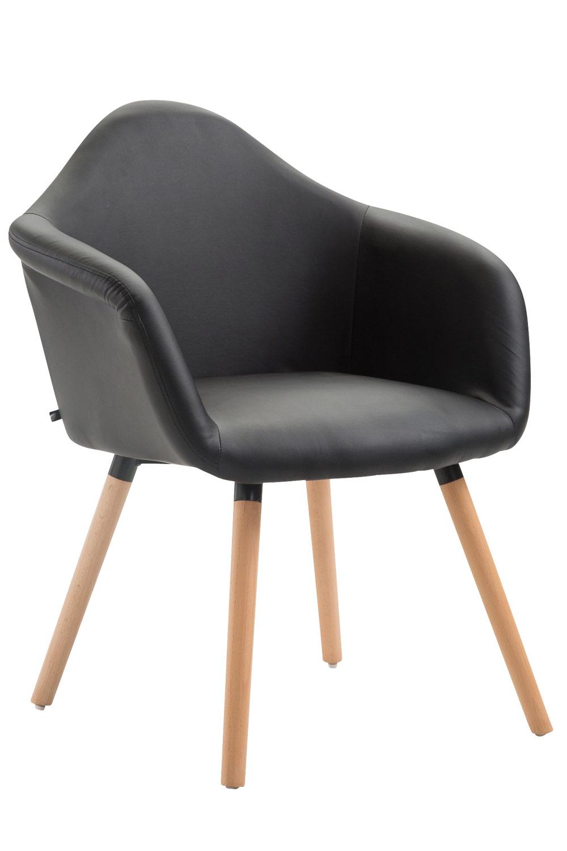 Chaise-de-salle-a-manger-TITO-design-retro-rembourre-revetement-en-similicuir